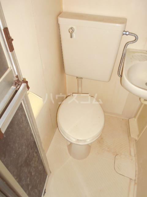CSEハイツ林間 203号室のトイレ