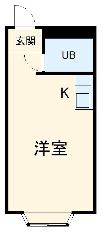 ベルピア・鎌倉第8・203号室の間取り