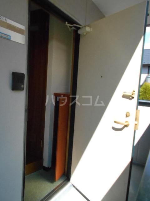 コンプリートHISA 205号室の玄関