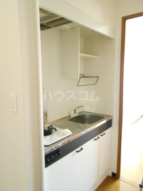 コンプリートHISA 205号室のキッチン