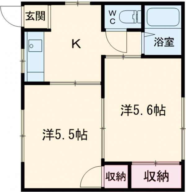 町田サニーガーデン・102号室の間取り