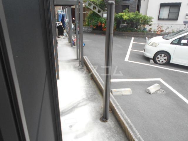 サニーコート矢島 101号室のバルコニー