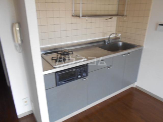 アイランドマンション大阪台 304号室のキッチン