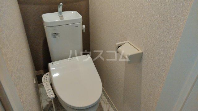 ユナイト柴口チャーリーの杜 205号室のトイレ
