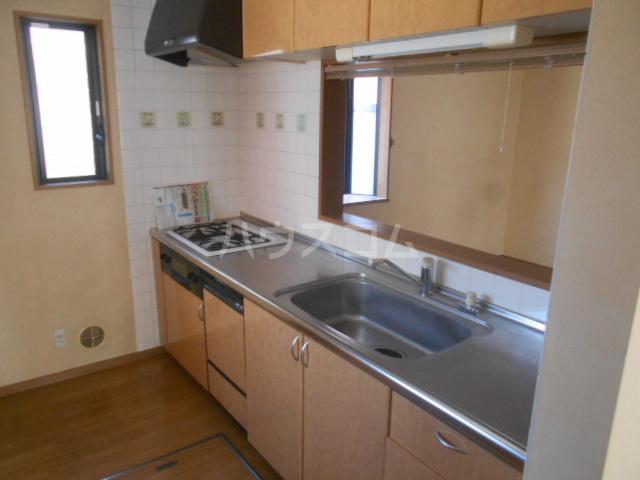 清新戸建のキッチン