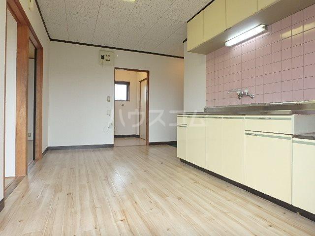 コーポ若葉Ⅱ 202号室のキッチン