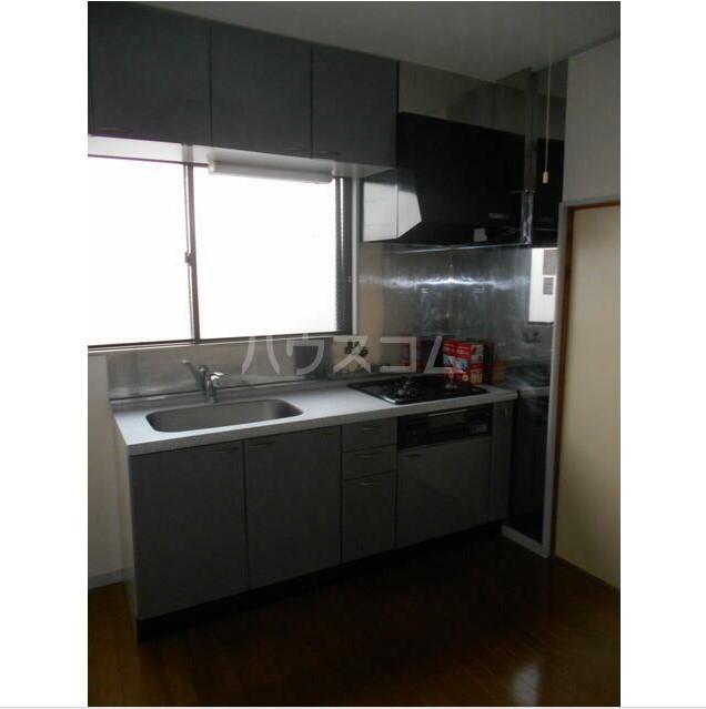 池野ビル 402号室のキッチン