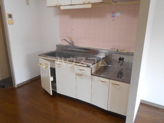 第3野本ビル 111号室のキッチン