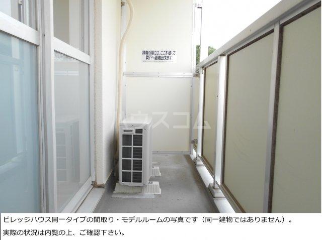 ビレッジハウス菊川2号棟 408号室のバルコニー