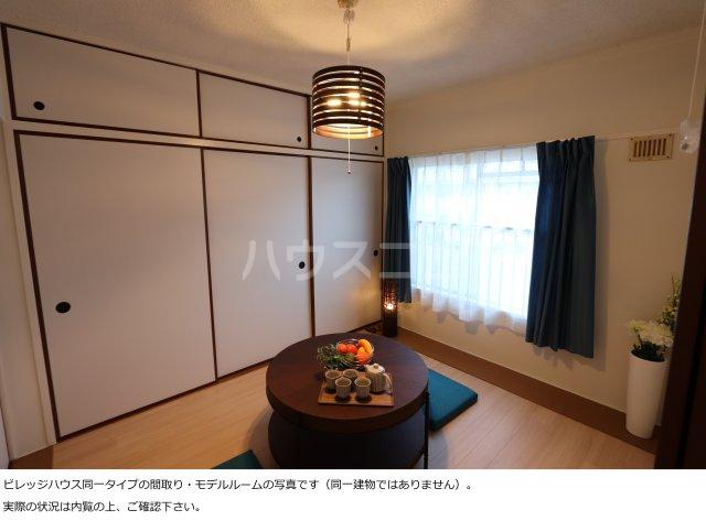 ビレッジハウス菊川2号棟 408号室のベッドルーム