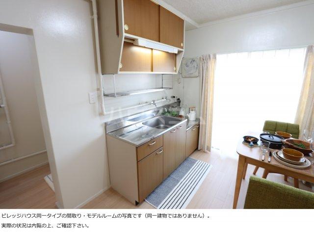 ビレッジハウス菊川2号棟 408号室のキッチン
