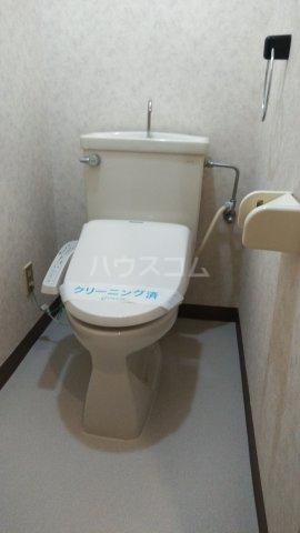 パークハイム林間 303号室のトイレ