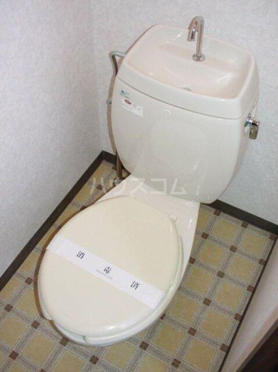 ミッキーハイツ 201号室のトイレ