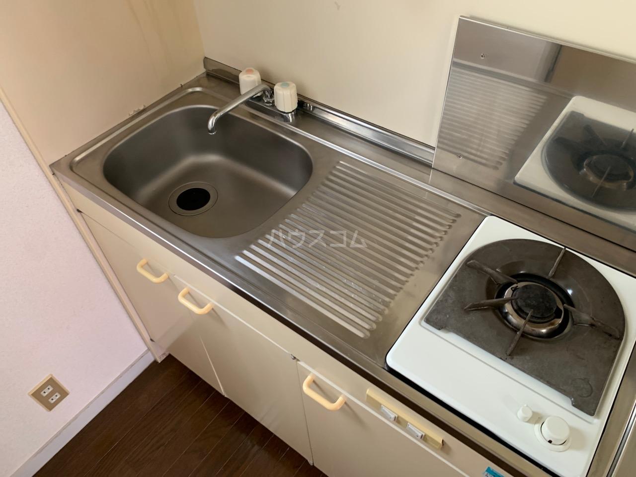 DSハウス 202号室のキッチン