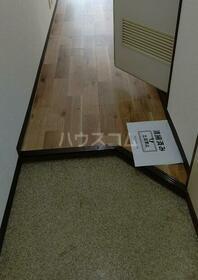 ハイツ笠間 105号室の玄関