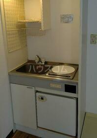 ハイツ笠間 105号室のキッチン