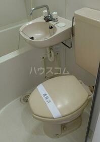 ハイツ笠間 105号室のトイレ