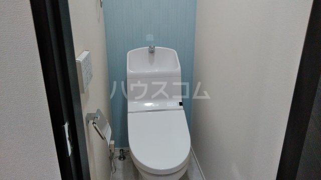 G・Aヒルズ山手Ⅱ B棟 105号室のトイレ