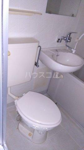 コスモ横浜蒔田 202号室のトイレ