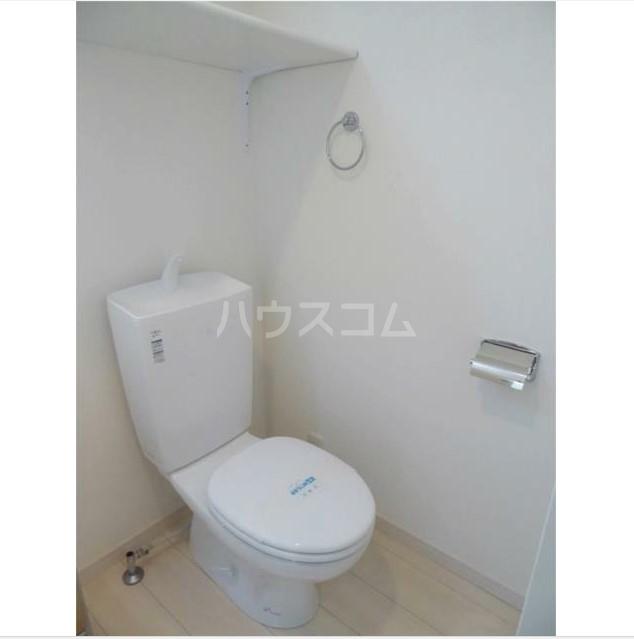 ハーミットクラブハウス上大岡ヒルズ 203号室のトイレ