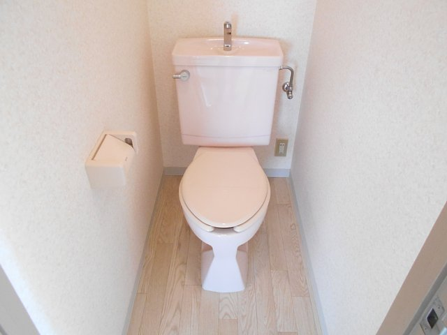 千代田マンション中村 303号室のトイレ