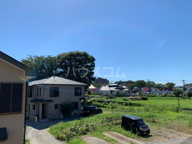萩のテラスハウスの景色