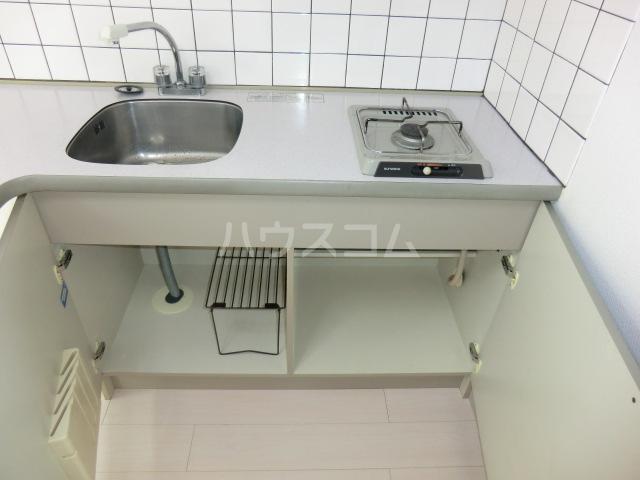 エクレール旭町 202号室のキッチン