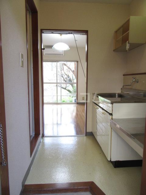 山荘村田 204号室の居室