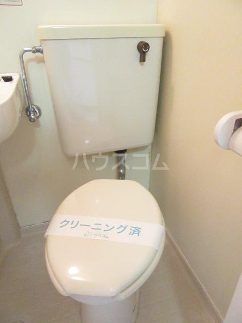 山荘村田 204号室のトイレ