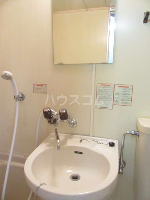 山荘村田 204号室の洗面所