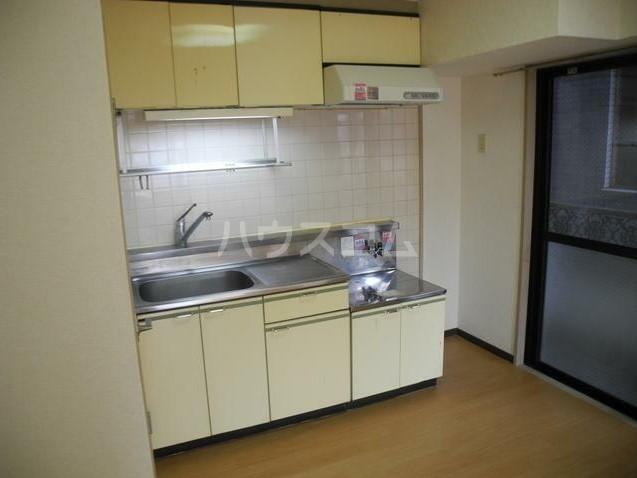 第3東和ビル 501号室のキッチン