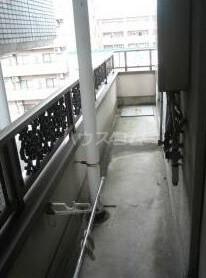 第3東和ビル 501号室のバルコニー