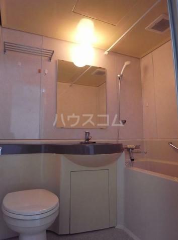 山野ビル 401号室の洗面所