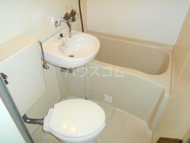 ワンルームマンション大蔵 202号室のトイレ