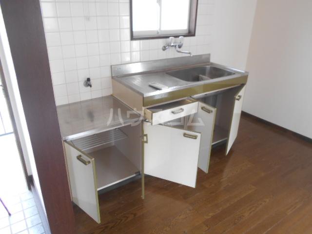 友森ハイツ 201号室のキッチン