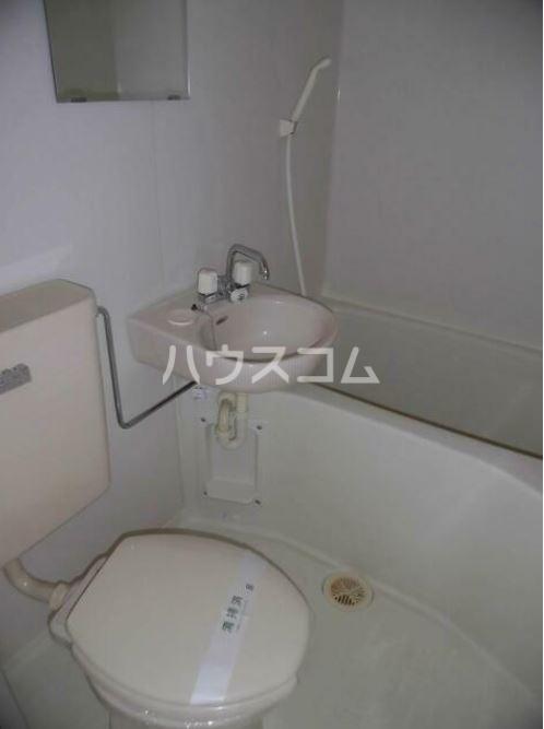 ハーモニーハイツ屏風浦 103号室のトイレ