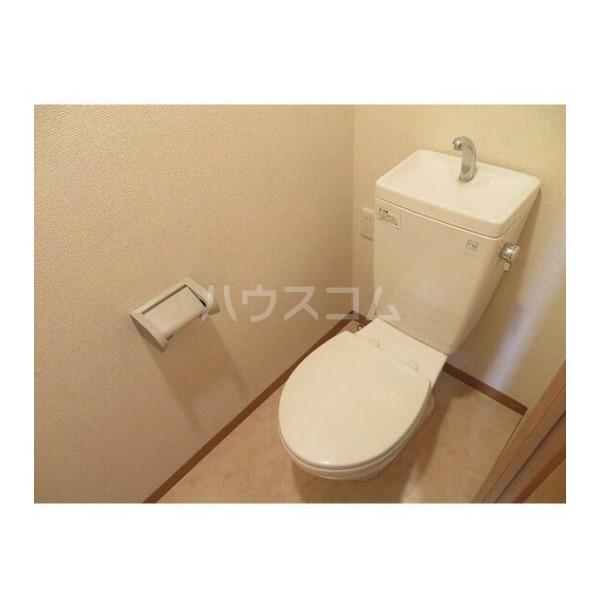 ル・グロワール 204号室のトイレ