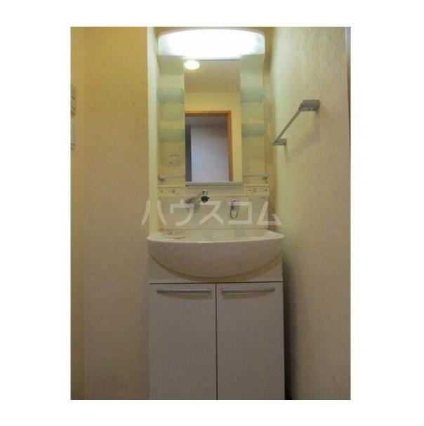 ル・グロワール 204号室の洗面所