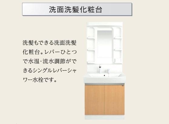 Affluent(アフルエントゥ) 202号室の洗面所