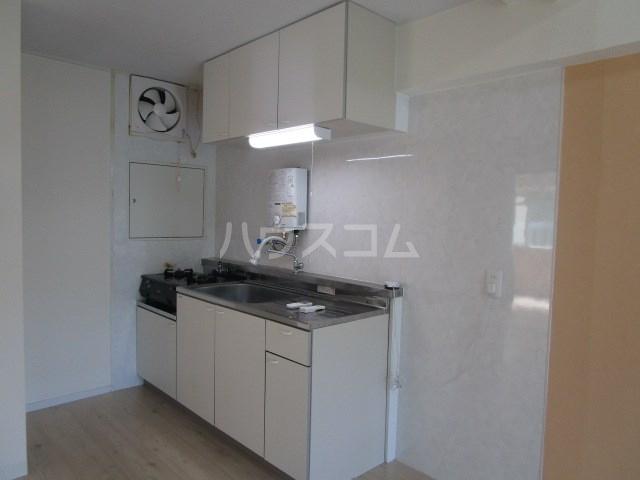 Lake Garda 1A号室のキッチン