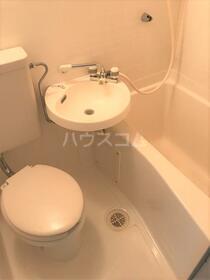 エトワール保土ヶ谷 205号室 205号室のトイレ