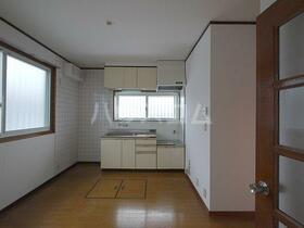 アメニティヤスダⅡ 201号室のキッチン