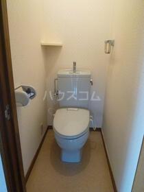 アメニティヤスダⅡ 201号室のトイレ
