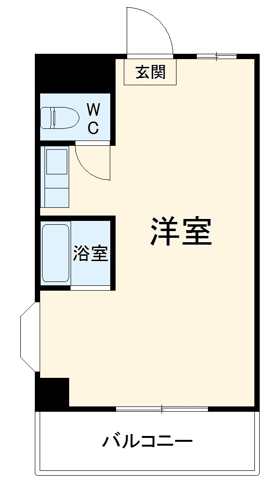 CLA YAMATO Ⅱ・304号室の間取り