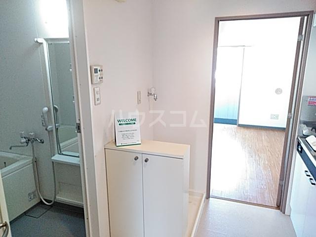 クイーンズテラス 802号室の洗面所