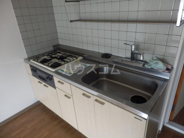 ユーマンション 2B号室のキッチン