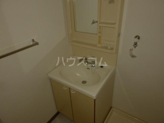 ユーマンション 2B号室の洗面所
