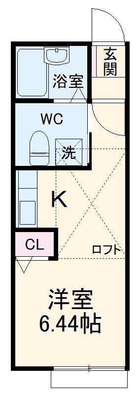 DAIYU8番館 205号室の間取り