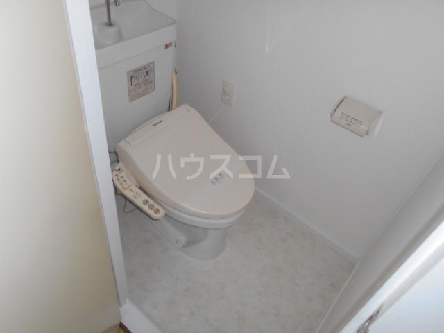 不動ヶ丘ハイツ 103号室のトイレ