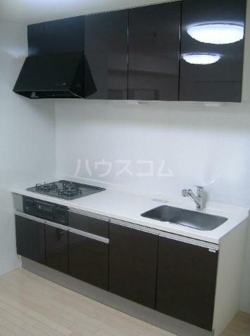 グリーンシティ新平戸 303号室のキッチン